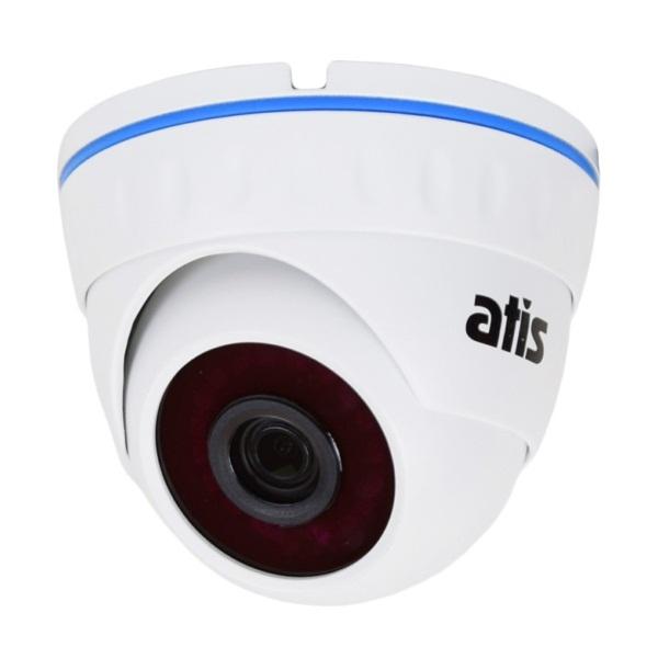 Відеонагляд/Камери відеоспостереження 3 Мп IP-відеокамера Atis ANVD-2MIRP-20W/2.8A Eco
