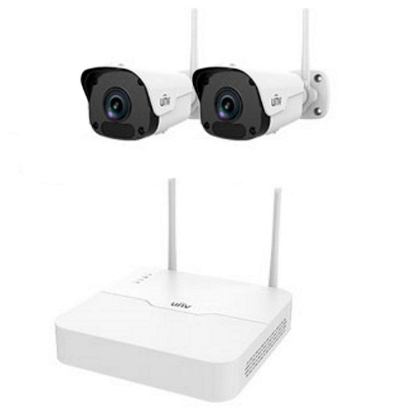 Video surveillance/CCTV Kits CCTV Kit Wi-Fi IP Uniview KIT/NVR301-04LB-W/2*2122SR3-F40W-D