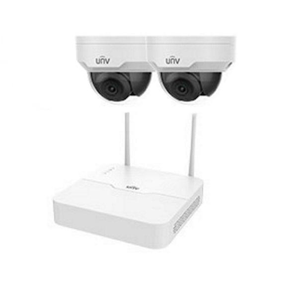 Видеонаблюдение/Комплекты видеонаблюдения Комплект видеонаблюдения Wi-Fi IP Uniview KIT/NVR301-04LB-W/2*322SR3-VSF28W-D