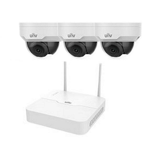 Видеонаблюдение/Комплекты видеонаблюдения Комплект видеонаблюдения Wi-Fi IP Uniview KIT/NVR301-04LB-W/3*322SR3-VSF28W-D