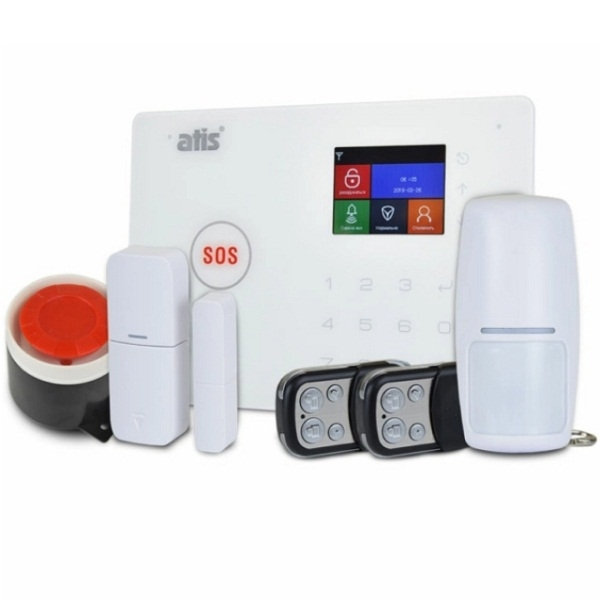 Security Alarms/Alarm Kits Wireless Alarm Kit Atis Kit GSM+WiFi 130T with support for Tuya Smart app