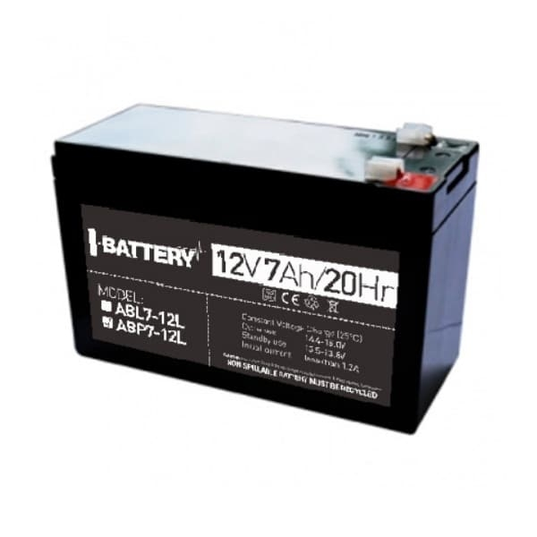 Power sources/Rechargeable Batteries Battery I-Battery ABP7-12L