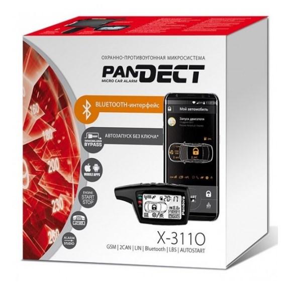 Автомобільна безпека/Автомобільні сигналізації Автосигнализація PanDECT X-3110