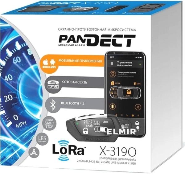 Автомобільна безпека/Автомобільні сигналізації Автосигнализація PanDECT X-3190 LoRa