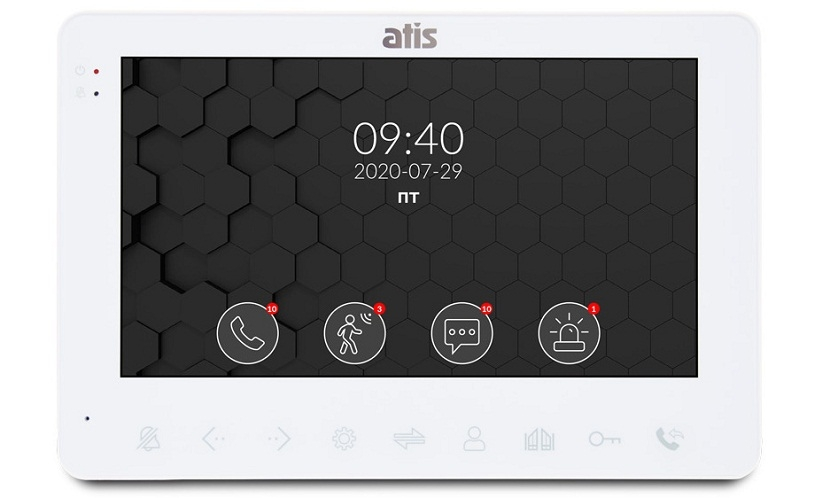 News Review of the video intercom Atis AD-780MW
