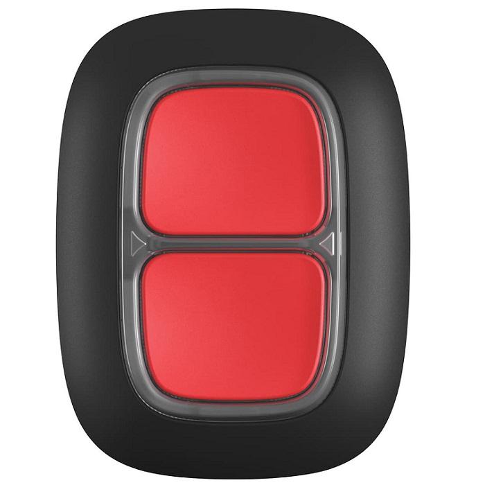 Тривожна кнопка Ajax DoubleButton black