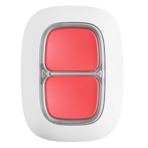 Security Alarms/Alarm buttons, Key fobs Panic button Ajax DoubleButton white