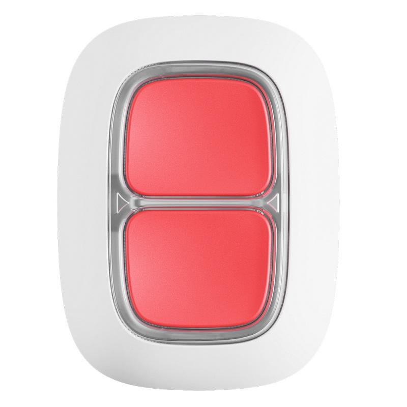 Тревожная кнопка Ajax DoubleButton white