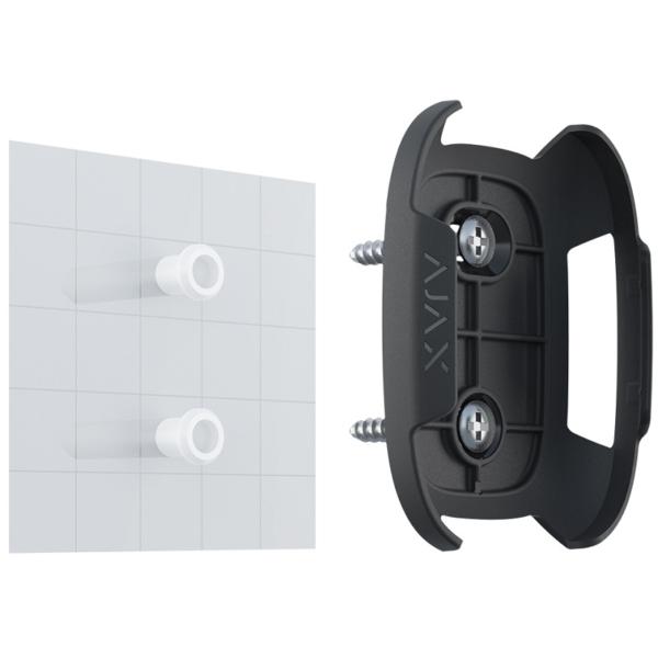 Охоронні сигналізації/Аксесуари для охоронних систем Тримач Ajax Holder black для фіксації Button або DoubleButton на поверхнях