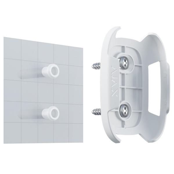 Охоронні сигналізації/Аксесуари для охоронних систем Тримач Ajax Holder white для фіксації Button або DoubleButton на поверхнях