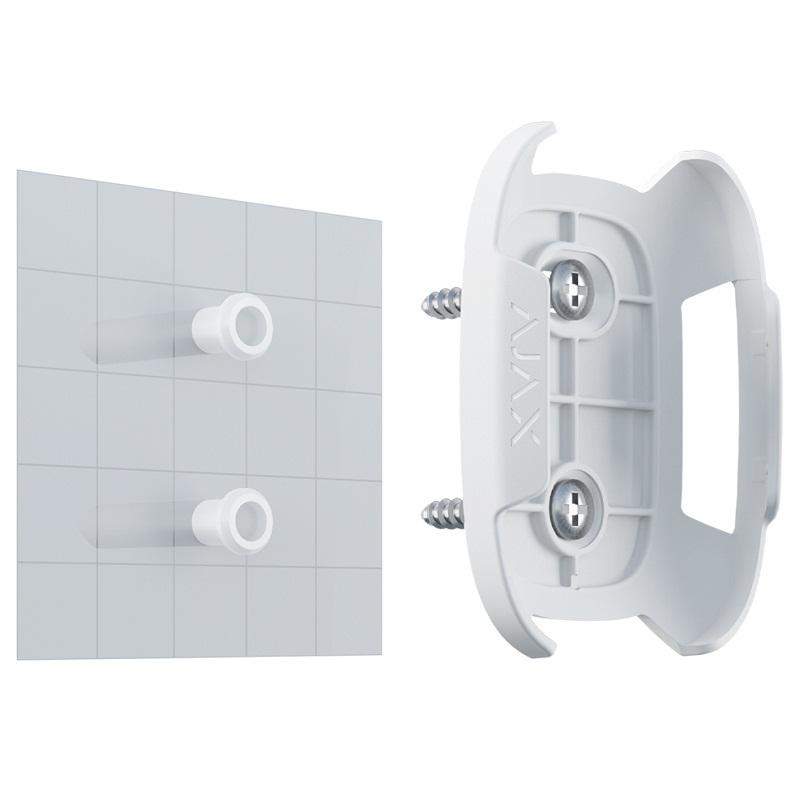 Держатель Ajax Holder white для фиксации Button или DoubleButton на поверхностях
