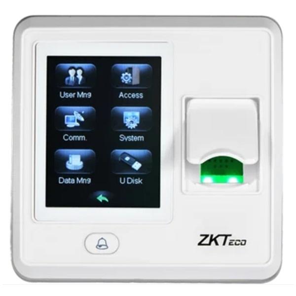Контроль доступа/Биометрические системы Биометрический терминал ZKTeco SF300 (ZLM60) со считывателем RFID карт, TFT дисплеем и сканером отпечатков пальцев (White)