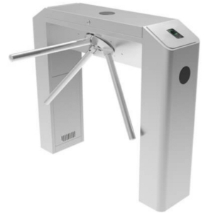 Access control/Turnstiles Tripod Turnstile ZKTeco TS2000 Pro with a finger scanner and RFID card reader