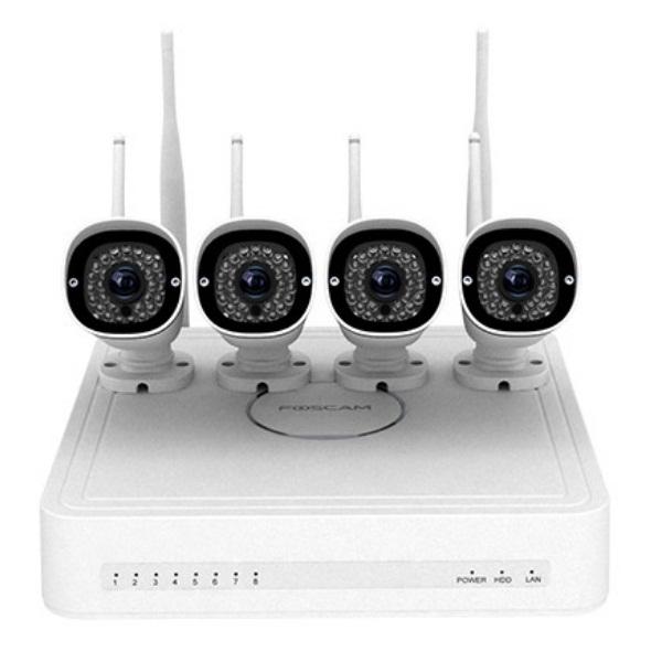 Відеонагляд/Комплекти відеоспостереження Комплект відеоспостереження Foscam FN3104W-B4