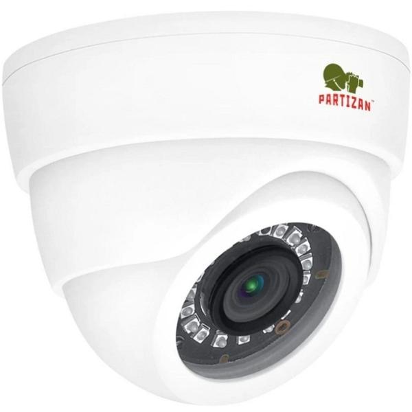 Видеонаблюдение/Камеры видеонаблюдения 2 Мп AHD видеокамера Partizan CDM-223S-IR FullHD 1.0