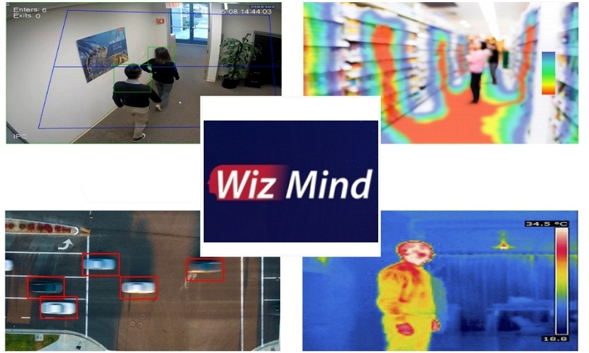 Video surveillance Dahua WizMind series of video cameras with artificial intelligence for large objects