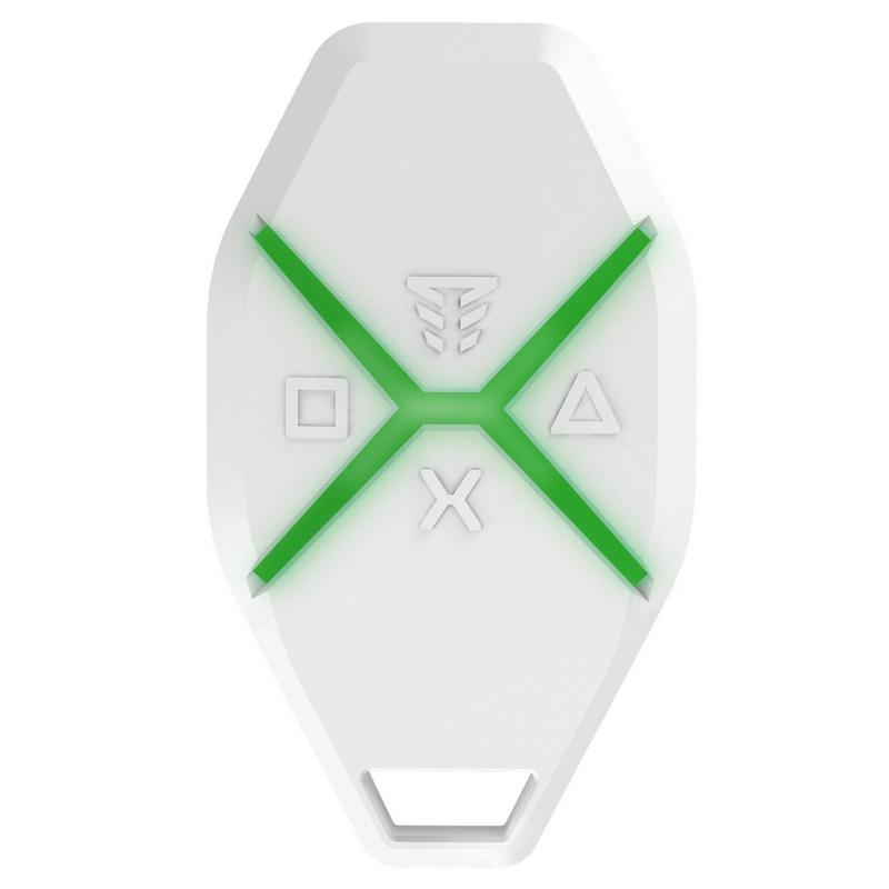 Брелок управления системой Tiras X-Key с тревожной кнопкой
