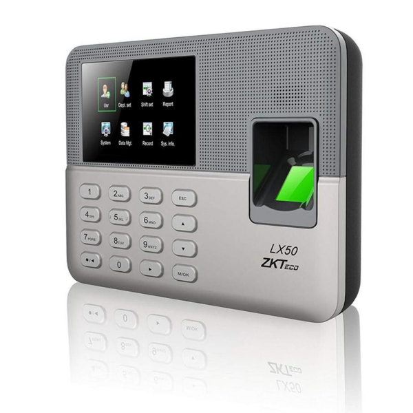 Access control/Biometric systems Biometric time attendance terminal ZKTeco LX50