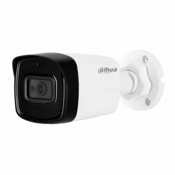 Відеонагляд/Камери відеоспостереження 8 Мп HDCVI відеокамера Dahua DH-HAC-HFW1800TLP-A (2.8 мм)