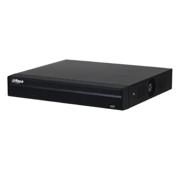 Відеонагляд/Відеореєстратори 8-канальний NVR відеореєстратор Dahua DHI-NVR1108HS-8P-S3/H