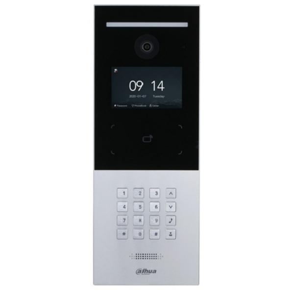 Домофони/Викличні відеопанелі 2 Мп виклична IP-відеопанель Dahua DHI-VTO6521F багатоабонентська