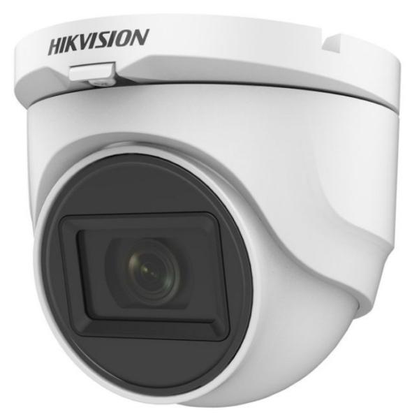 Відеонагляд/Камери відеоспостереження 5 Мп HDTVI відеокамера Hikvision DS-2CE76H0T-ITMF (C) (2.4 мм)
