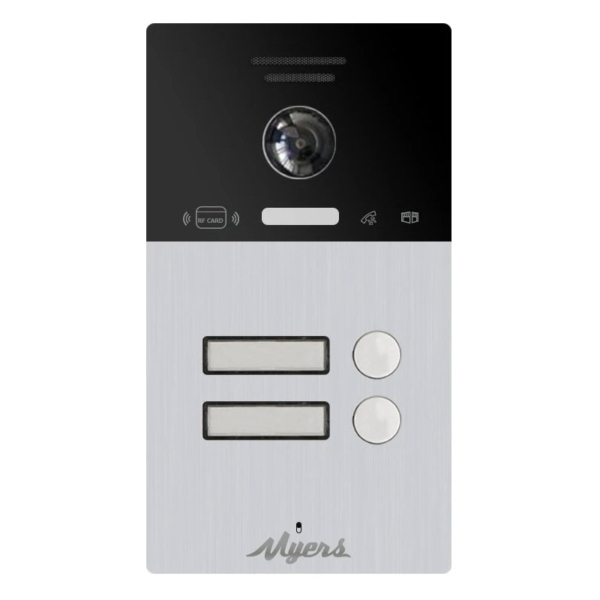 Intercoms/Video Doorbells IP Video Doorbell Myers MIP-300 Black 2B