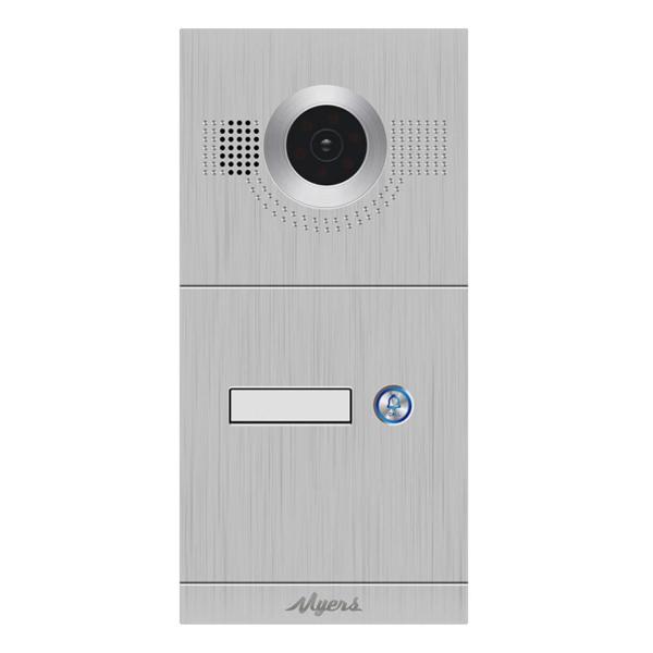 Домофоны/Вызывные видеопанели Вызывная IP-видеопанель Myers MIP-300 Silver 1B