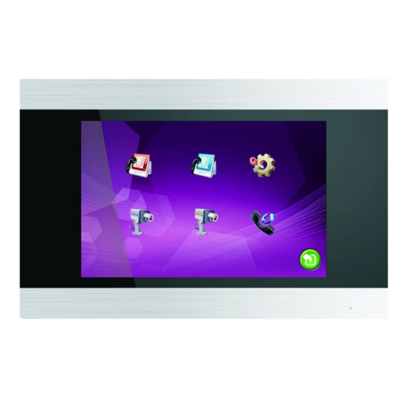 Домофони/Відеодомофони IP-відеодомофон Myers MIP-75SD Silver Touch