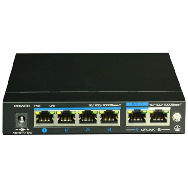 Network Hardware/Switches 4-port PoE switch Utepo UTP3-GSW04-TPD60 unmanaged
