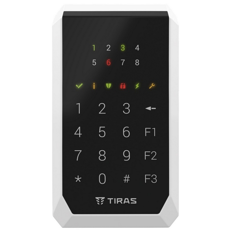 Кодовая клавиатура Tiras X-Pad для управления охранной системой Orion NOVA X