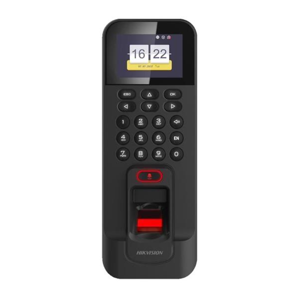 Контроль доступа/Биометрические системы Сканер отпечатков пальцев Hikvision DS-K1T804AMF со считывателем карт