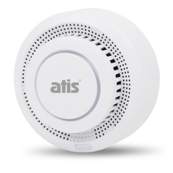 Охранные сигнализации/Охранные датчики Беспроводной датчик дыма Atis-229DW-T с поддержкой Tuya Smart