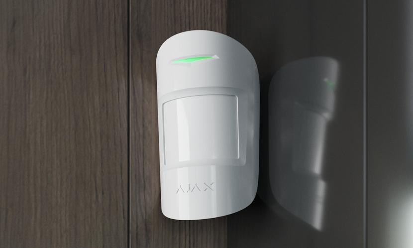 Охоронні системи Огляд датчика руху Ajax MotionProtect