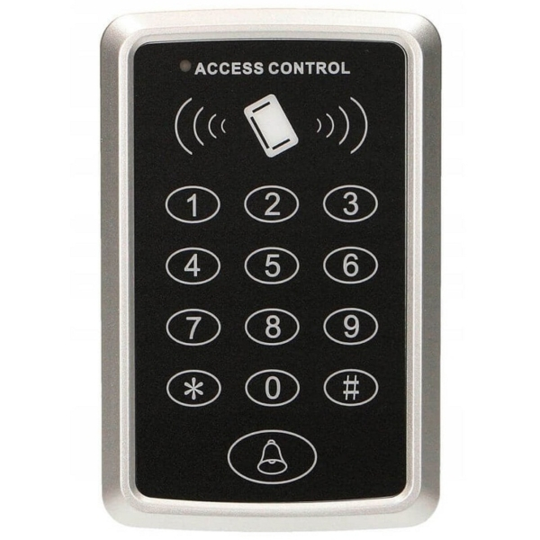 Контроль доступа/Кодовые клавиатуры Кодовая клавиатура ZKTeco SA32-E со считывателем RFID-карт
