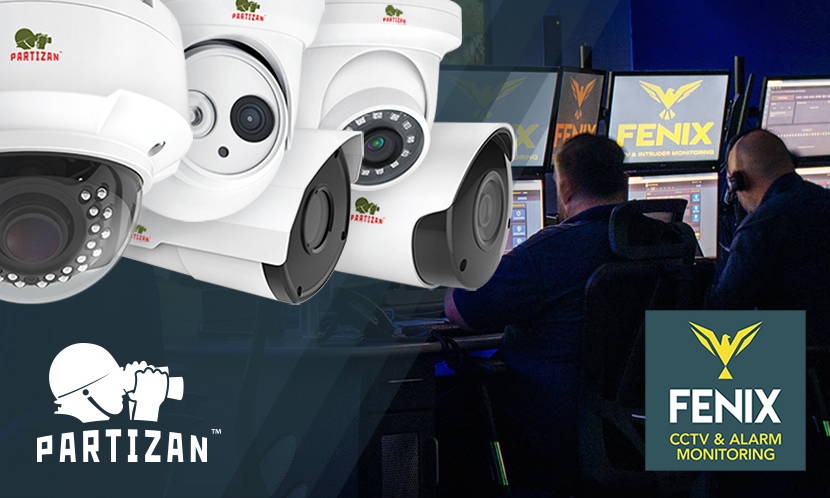 Video surveillance Fenix Monitoring partners with Partizan Security