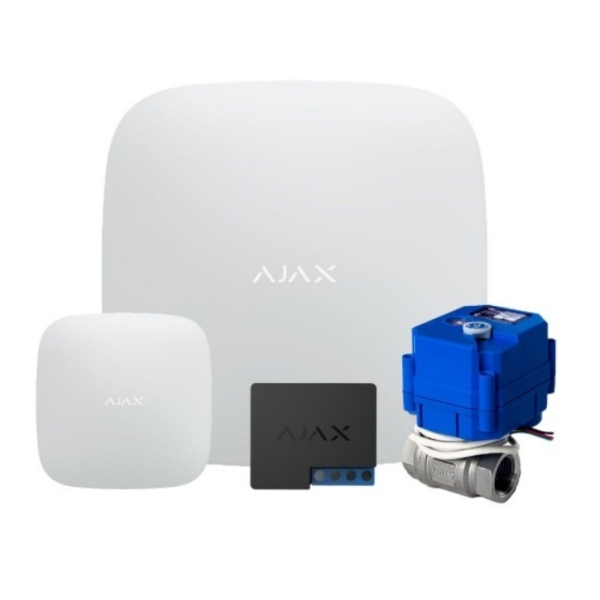 Security Alarms/Anti-flood/Anti-flood kits Anti-flood kit based on Ajax (Full 220 1/2″)