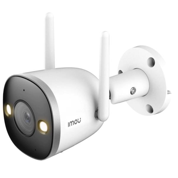 Відеонагляд/Камери відеоспостереження 4 Мп Wi-Fi IP-відеокамера Imou Bullet 2S (IPC-F46FP)