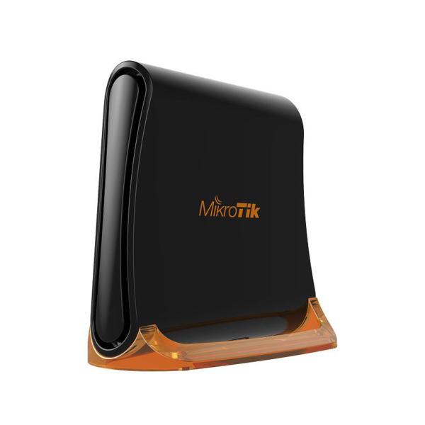 Сетевое оборудование/Wi-Fi маршрутизаторы, Точки доступа Wi-Fi точка доступа MikroTik hAp Mini (RB931-2nD) з 3-портами Ethernet