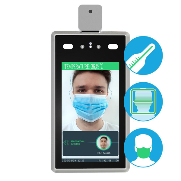 Access control/Biometric systems Access control system Partizan STD-2MP PM for face recognition and temperature measurement