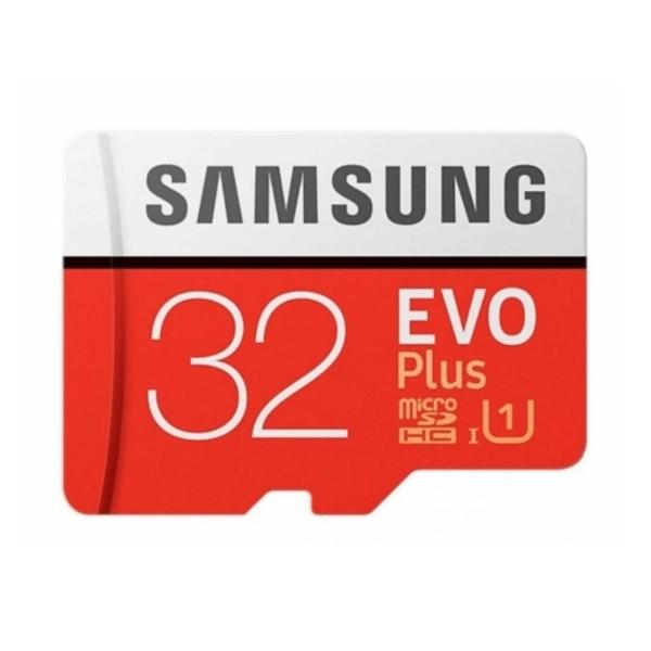 Видеонаблюдение/Карты памяти MicroSD Карта памяти Samsung 32ГБ microSDHC C10 UHS-I R95/W20MB/s Evo Plus + SD адаптер (MB-MC32GA/RU)