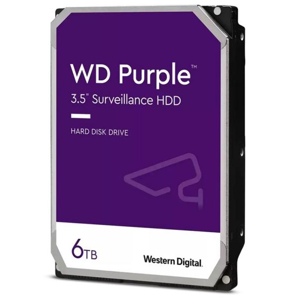 Відеонагляд/Жорсткі диски (HDD) для відеоспостереження Жорсткий диск Western Digital WD62PURZ 6 ТБ