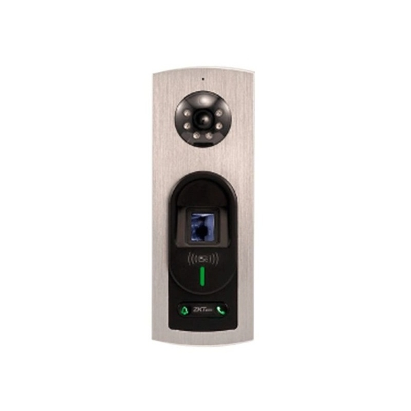 Домофони/Викличні відеопанелі Виклична IP-відеопанель ZKTeco Notus зі зчитувачем RFID карт і відбитків пальців