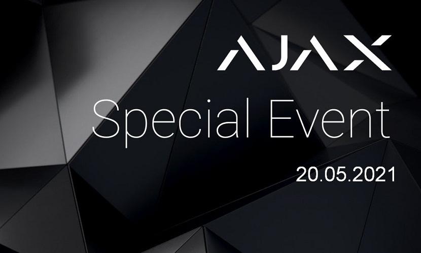 Охоронні системи Ajax Special Event 2021: нові пристрої та програмні розробки