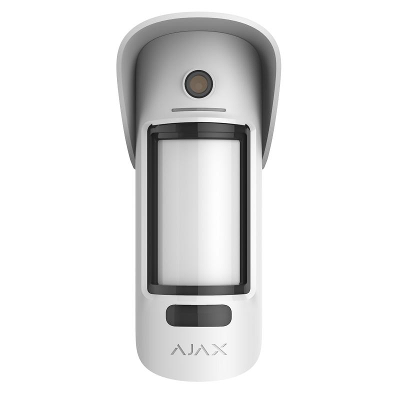 Бездротовий вуличний датчик руху Ajax MotionCam Outdoor з фотофіксацією подій