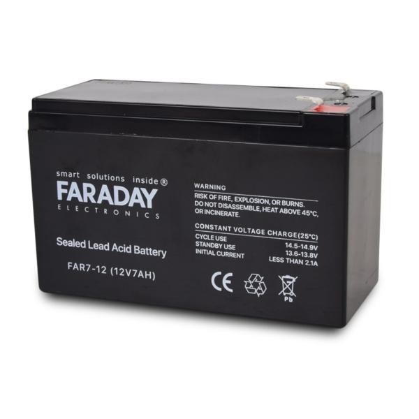 Джерела живлення/Акумулятори Акумулятор Faraday Electronics FAR7-12