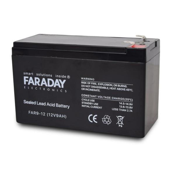 Источники питания/Аккумуляторы Аккумулятор Faraday Electronics FAR9-12