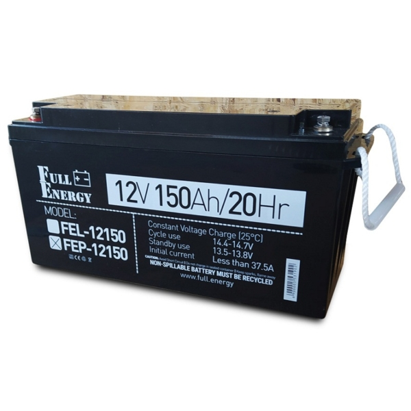 Power sources/Rechargeable Batteries Battery Full Energy FEP-12150