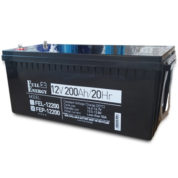 Power sources/Rechargeable Batteries Battery Full Energy FEP-12200