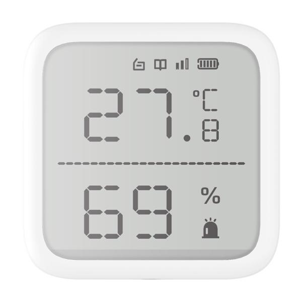 Охранные сигнализации/Охранные датчики Беспроводной датчик температуры и влажности Hikvision DS-PDTPH-E-WE AX PRO